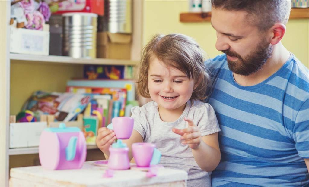 5 игр для папы с ребенком