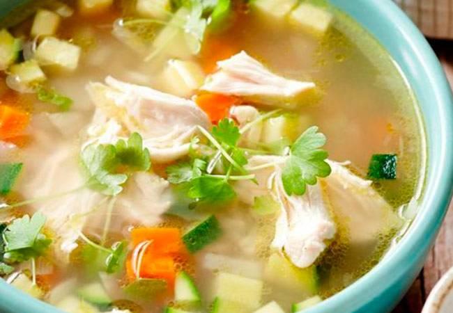 Суп для кормящей мамы в первый месяц лактации