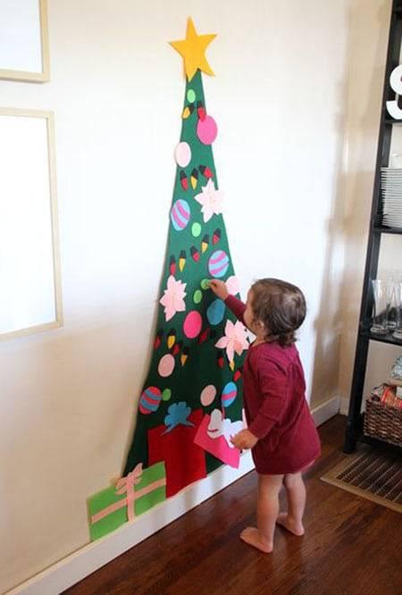 Животрепещущий вопрос: елка в доме, где есть маленький ребенок - «разное»