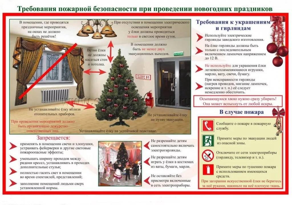 Правила безопасности во время новогодних праздников / новости / пресс-центр / администрация городского округа тольятти