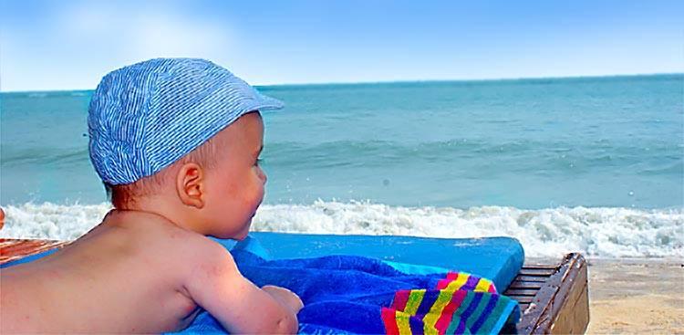 На море с грудничком? - болталка для мамочек малышей до двух лет - страна мам