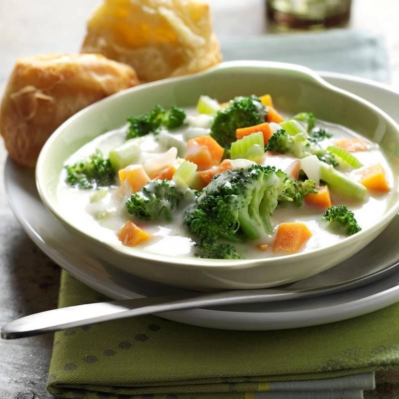 Простые рецепты супов для кормящей мамы