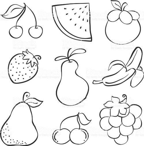 Как нарисовать огород с фруктами