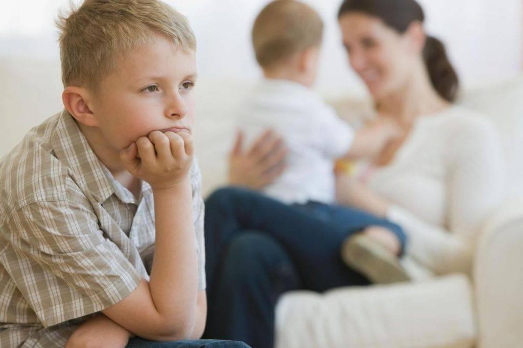 Старший и младший – детская ревность