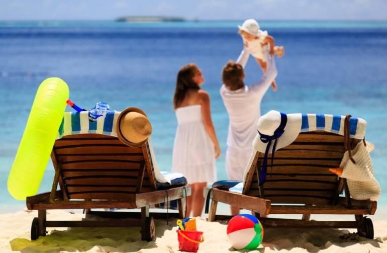 Путешествия с детьми на море