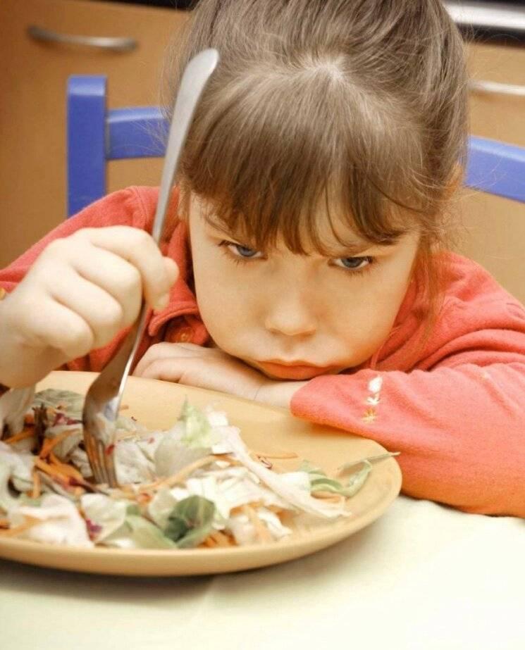 Если ребенок не ест в детском саду
