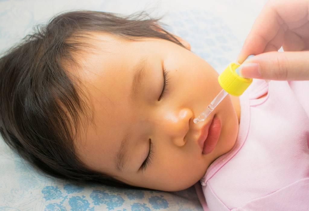 Капли в нос для новорожденных: виды, рекомендации, противопоказания