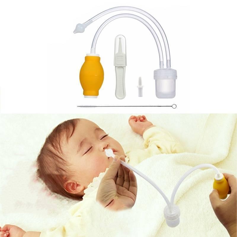 Как почистить носик новорожденному ребенку