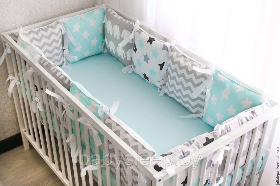 Бортики в детскую кроватку своими руками: варианты пошива, советы