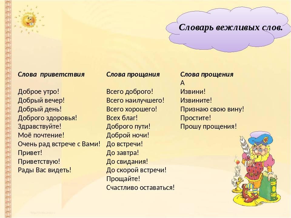 """Учим с малышами """"волшебные слова"""""""