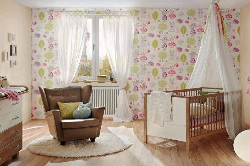 Обои комбинированные для детской комнаты: скомпоновать цвета, идеи декорирования, для мальчика