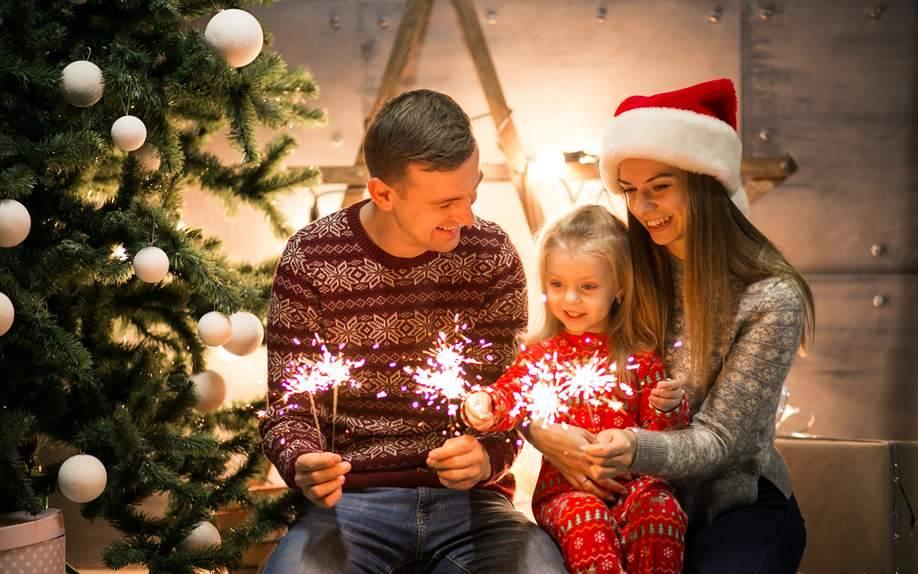 Семейный отдых на новый год