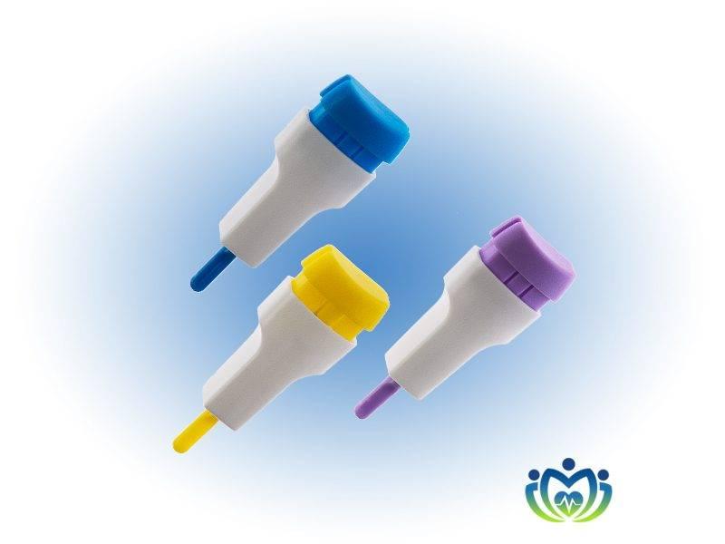 Одноразовые скарификаторы автоматические медицинские - применяемые для безболезненного взятия капиллярной крови у пациентов