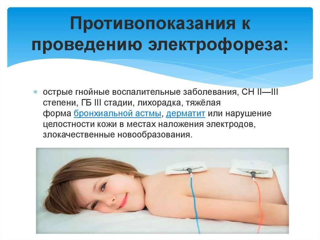 Лекарственный электрофорез | компетентно о здоровье на ilive