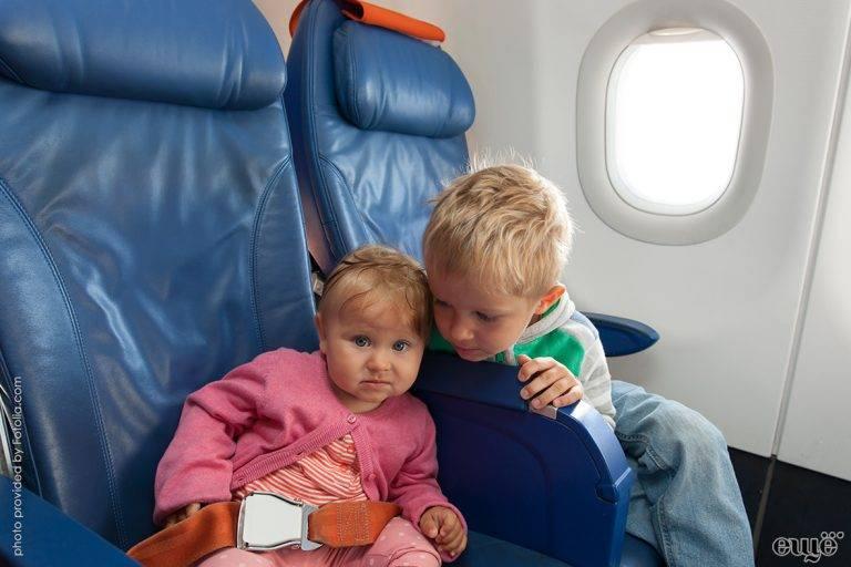 20 полезных советов для путешествия на самолете с детьми