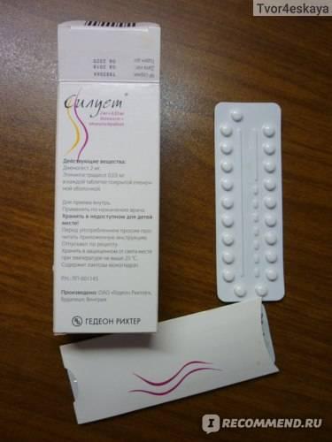 Противозачаточные таблетки силуэт: инструкция, отзывы, аналоги