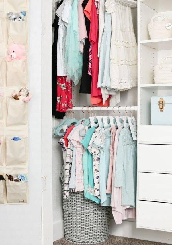 Как навести образцовый порядок в шкафу с одеждой и гардеробной. как складывать одежду и аксессуары