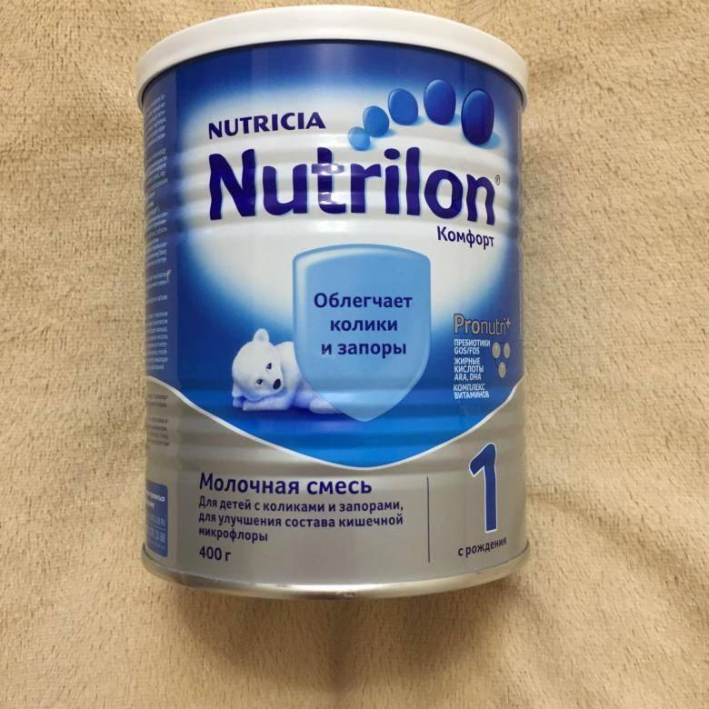 Детское питание «nutrilon comfort 1, 2» — состав, особенности и сравнение