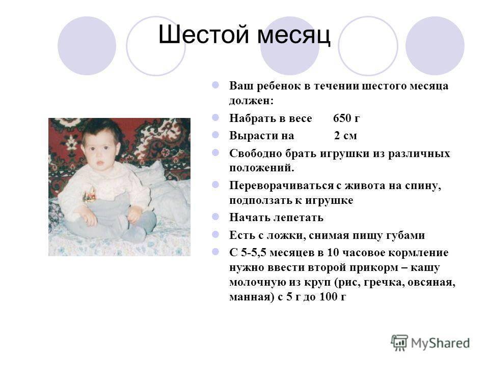 Развитие ребенка в 7 месяцев: что должен уметь делать малыш