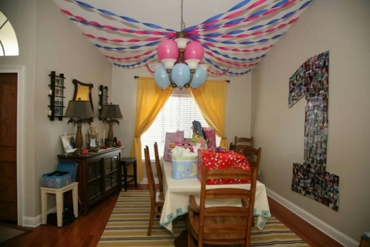 Как оформить комнату на день рождения ребенка своими руками — 50 оригинальных идей