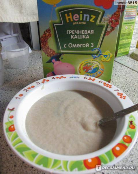 Гречневая каша для грудничка: рецепты на молоке, на воде, с бананом