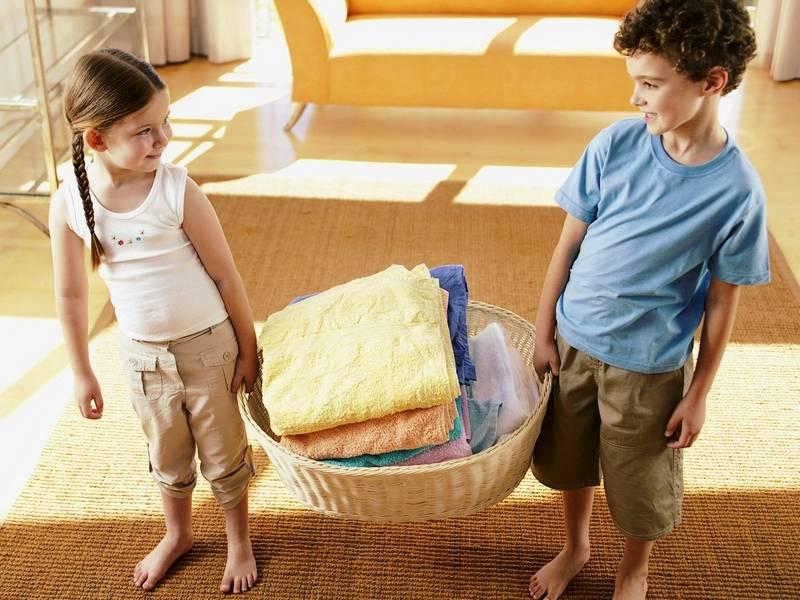 Как поддерживать порядок в доме, когда есть маленький ребенок?