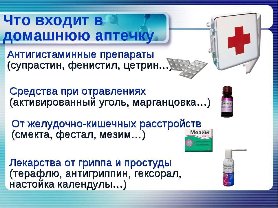 Школьная аптечка