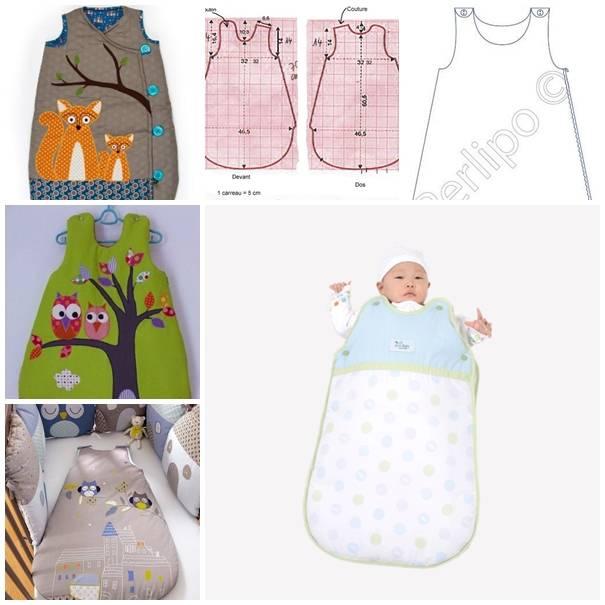 Мешок для сна для новорожденных своими руками | мамина любовь