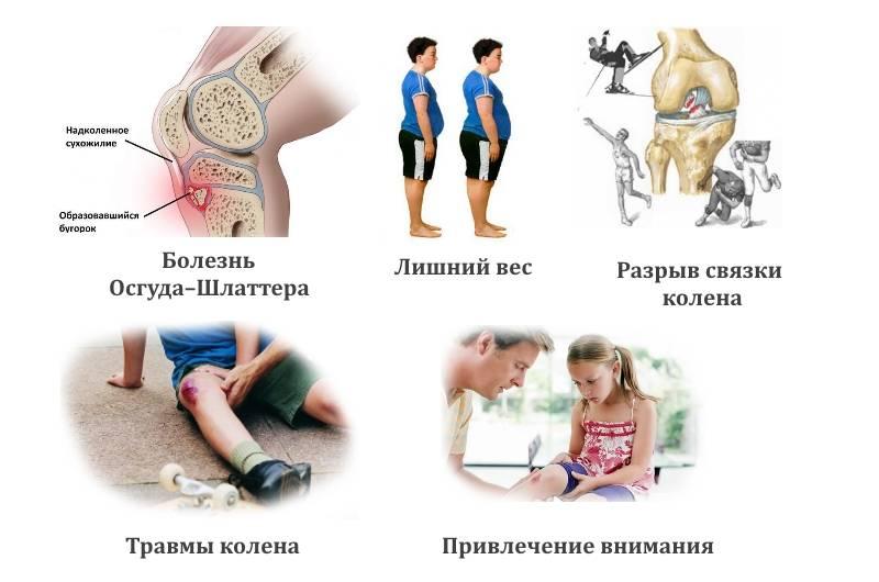 Боль в коленях у подростков: лечение в клинике стопартроз в москве