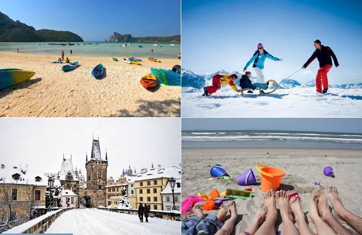 Где отдохнуть зимой с детьми в 2019 году: ТОП-10 лучших мест для путешествия