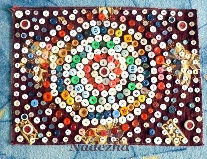 Мастер-класс раннее развитие аппликация шитьё развивающий коврик своими руками размер 157 на 132см кружево крупа ленты нитки пуговицы сутаж тесьма шнур ткань