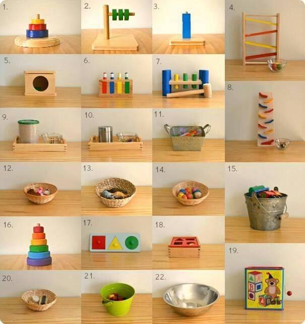 Игрушки по методике монтессори: развивающие рамки и доски своими руками, как сделать мобиль и органайзер