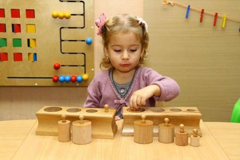 Монтессори-материалы своими руками для малышей