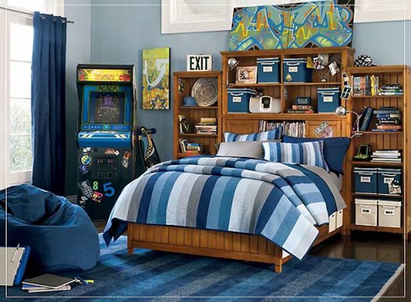 Комната для мальчика-подростка 14-16 лет (30 фото)