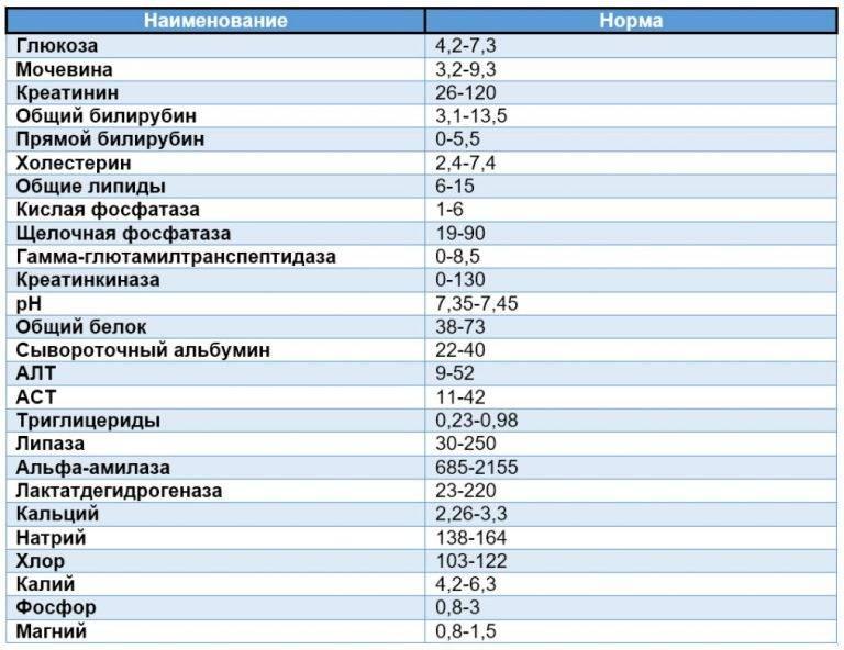 Биохимический анализ крови - причины, диагностика и лечение
