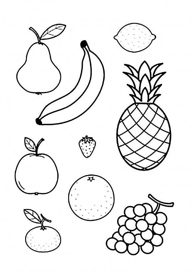 Конспект занятия «фрукты. рисование на тему «любимые фрукты». воспитателям детских садов, школьным учителям и педагогам - маам.ру