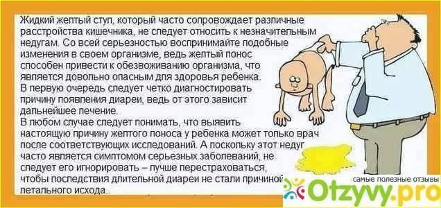 ➤ понос при орз у ребенка