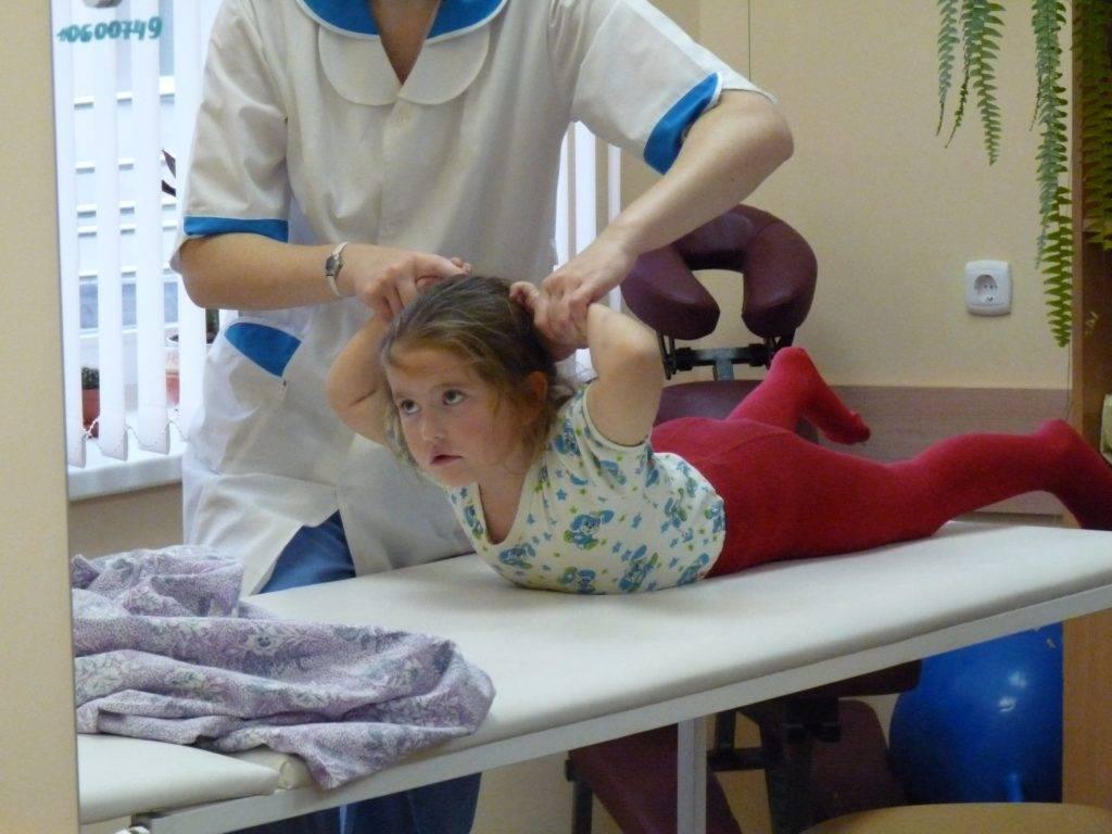Диагностика и реабилитация больных с детским церебральным параличом