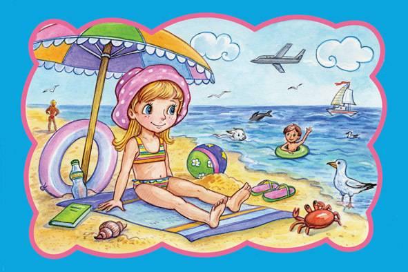 Что взять с собой на пляж с ребенком