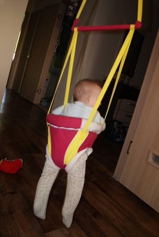 С какого возраста можно использовать прыгунки, не вредно ли это для ребенка?