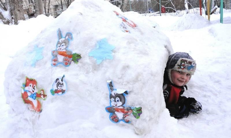 Новогодние забавы— спортивные эстафеты. зимний праздник на улице с участием родителей. воспитателям детских садов, школьным учителям и педагогам - маам.ру