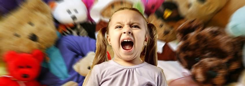 Истерики у детей: меньше магазинов и развлечений