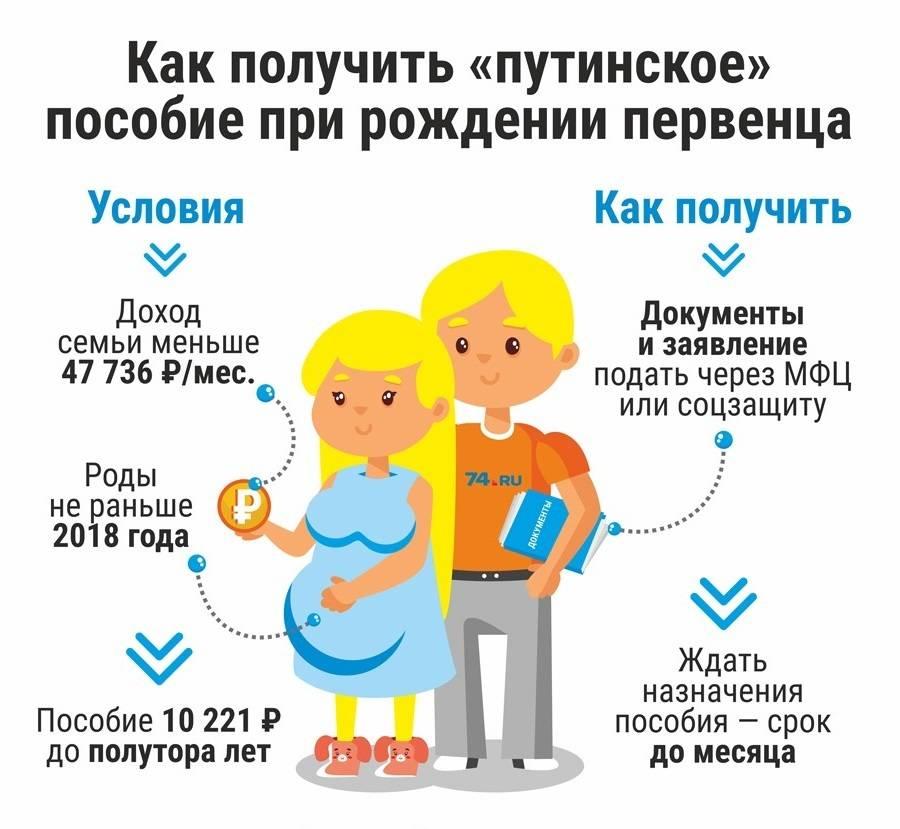 Ежемесячные детские пособия