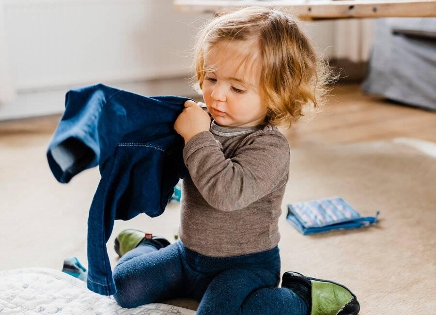 Как научить ребенка одеваться самостоятельно несколько рекомендаций