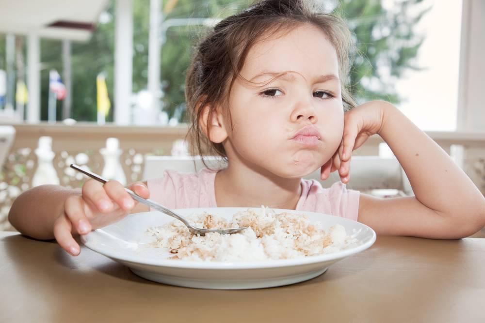 Дети плохо едят: последствия и коррекция