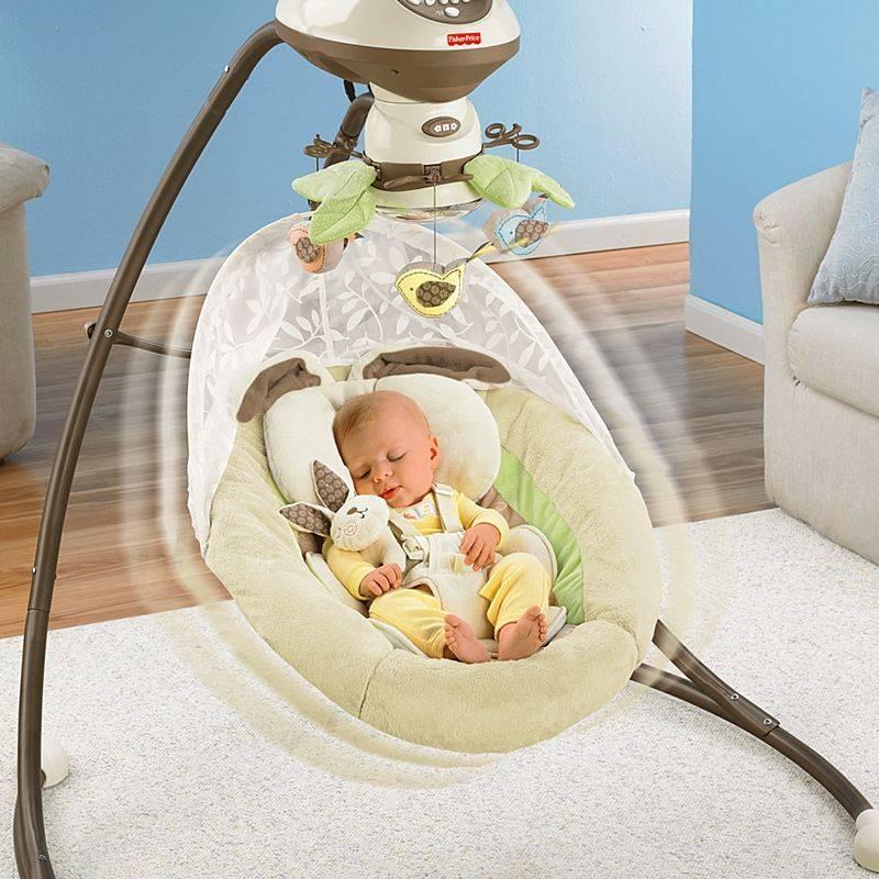 Что лучше использовать для новорожденных шезлонг или электрокачели? | в чем разница