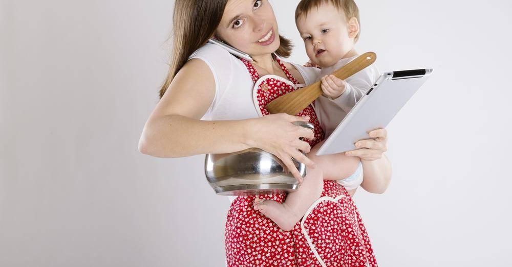 Как все успеть молодой маме