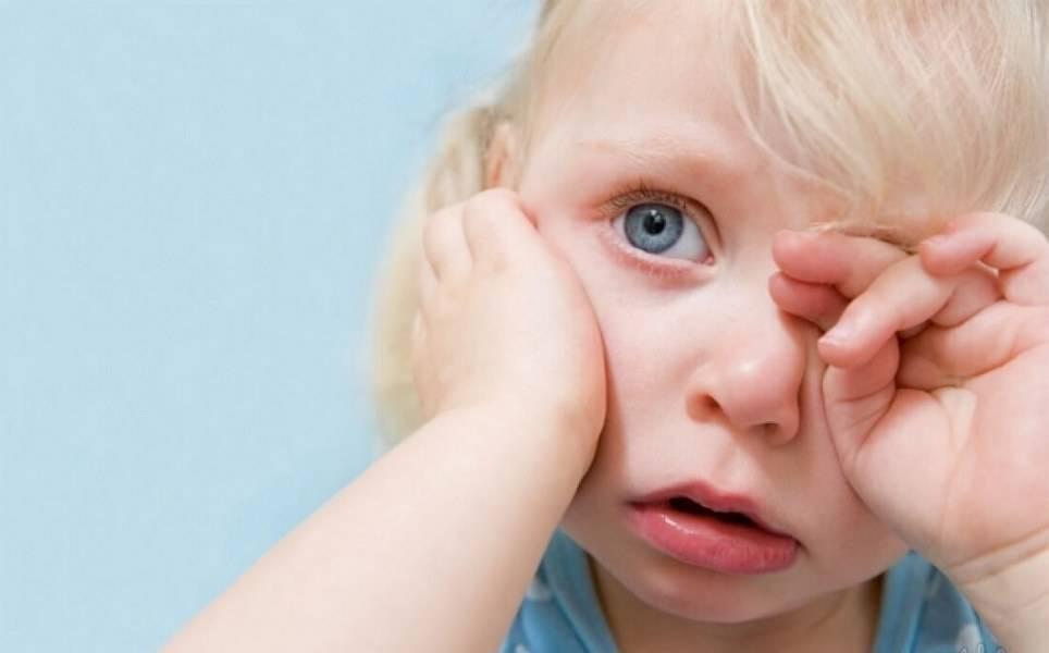 Почему у ребенка болят глаза причины и лечение?