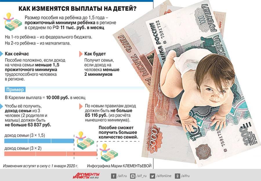 Денег хватит на всех. пособие на ребёнка до 18 лет: кому полагается, как получить, сколько платят