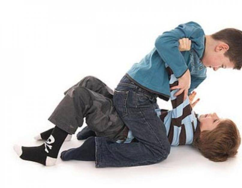 Маленькие драчуны или ваш ребенок дерется? | семейный круг
